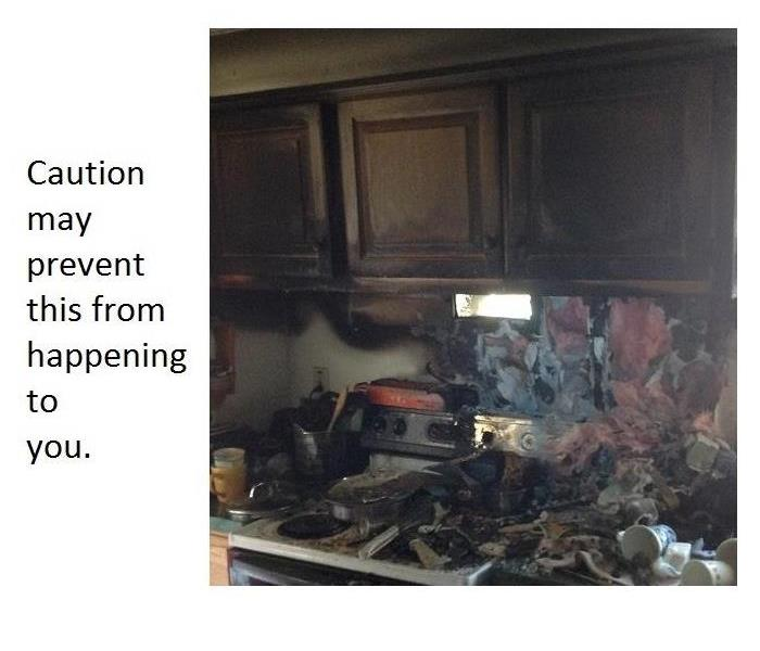 Fire Damage NUMBER ONE CAUSE OF HOME FIRES – COOKING